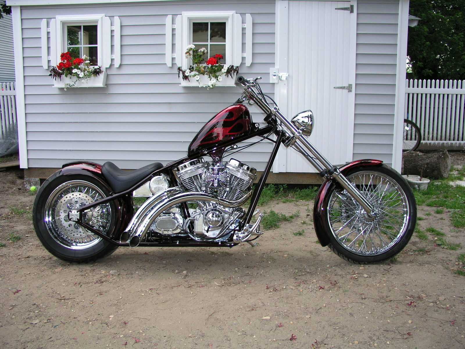 2008 custom built west coast chopper cfl for sale. Black Bedroom Furniture Sets. Home Design Ideas