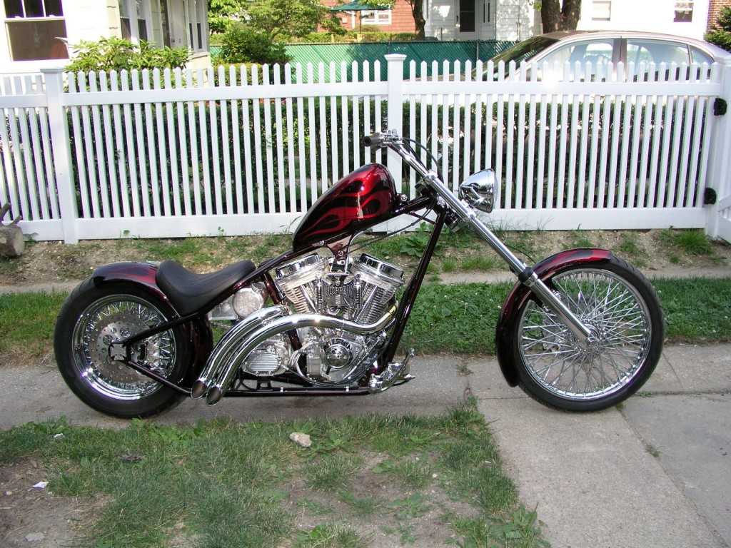 2008 Custom Built West Coast Chopper CFL