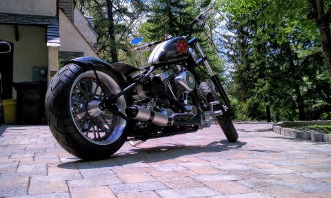 2011 Darwin Brass Balls Bobber 69 Chopper for sale