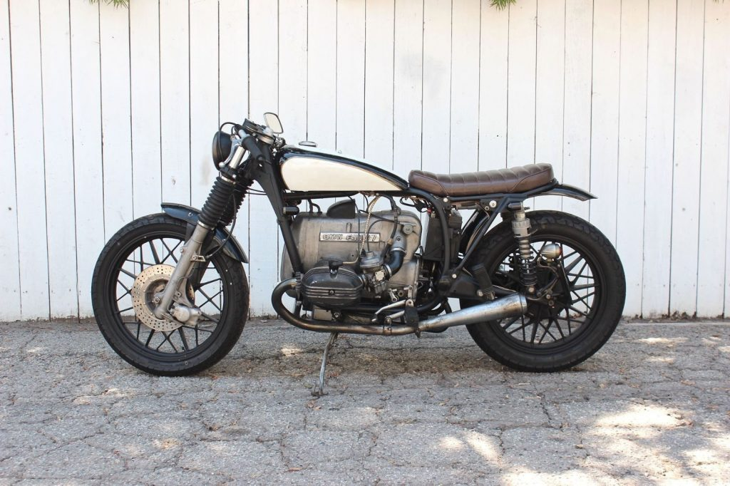 1978 bmw r100 7 custom vintage brat cafe motorcycle for sale. Black Bedroom Furniture Sets. Home Design Ideas