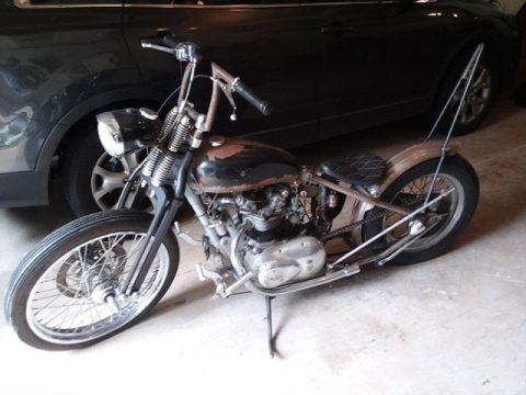 1971 Custom Triumph Bobber 500cc for sale