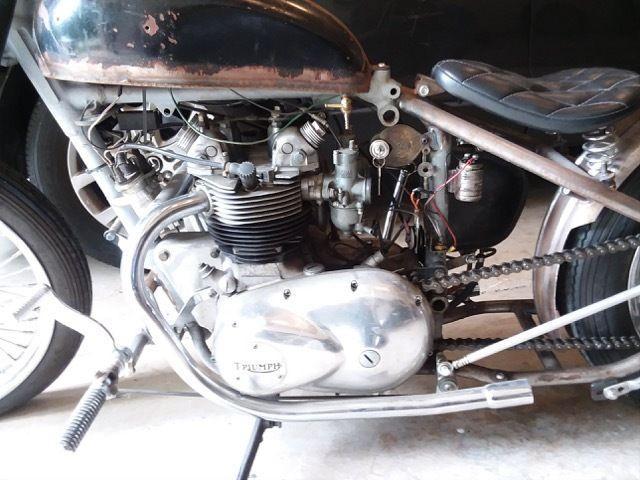 1971 Custom Triumph Bobber 500cc