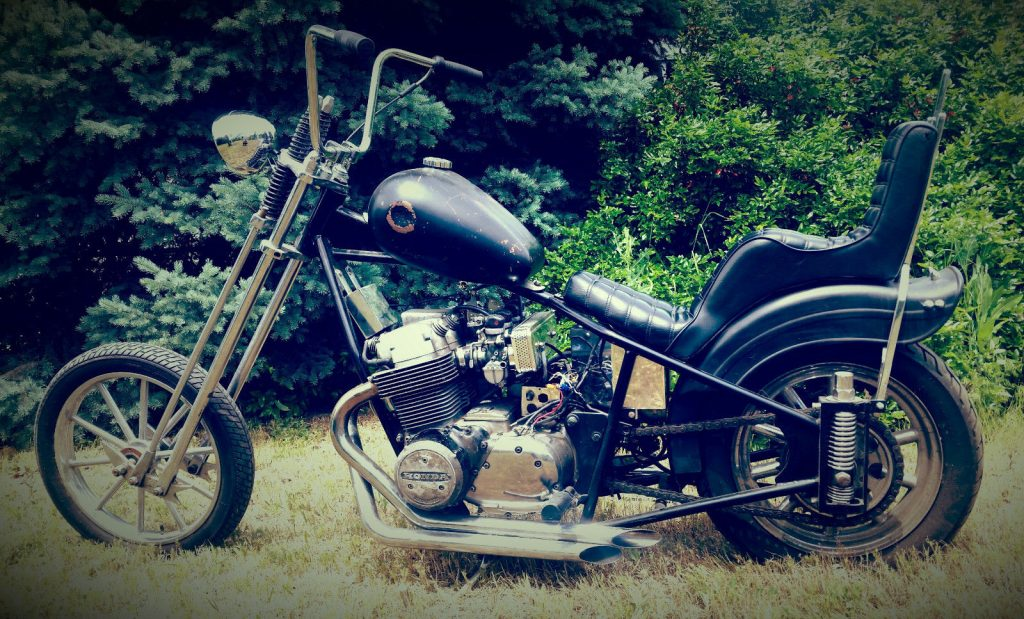 Honda Cb Chopper Amen Savior Custom Motorbike For Sale X