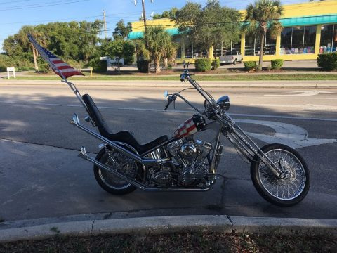 1997 Custom & Professionally Built Captain America Easyrider Inspired Chopper for sale