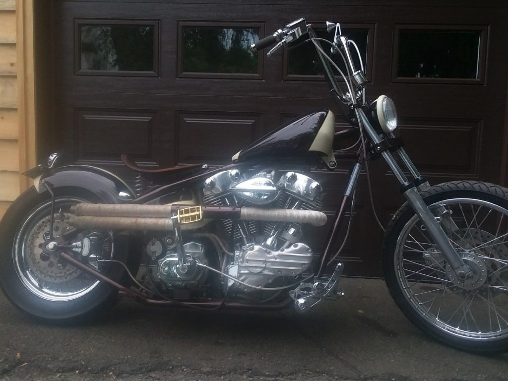 2012 Custom Knucklehead Show Bike
