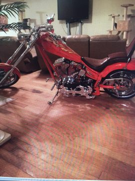 2004 Custom Built Chopper 111 S&S Twin Cam Top and Evo Bottom for sale