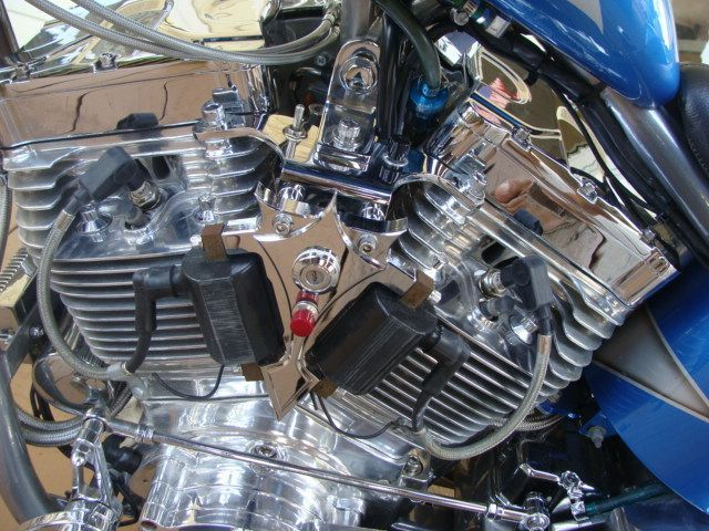 2008 CHIX Custom Cycle 260 Soft Tail Naked Chopper