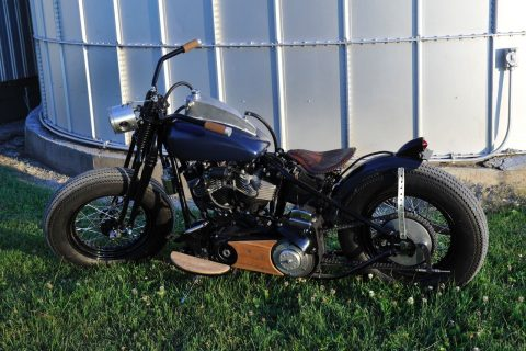 Custom 1978 Harley Davidson shovelhead Bobber for sale
