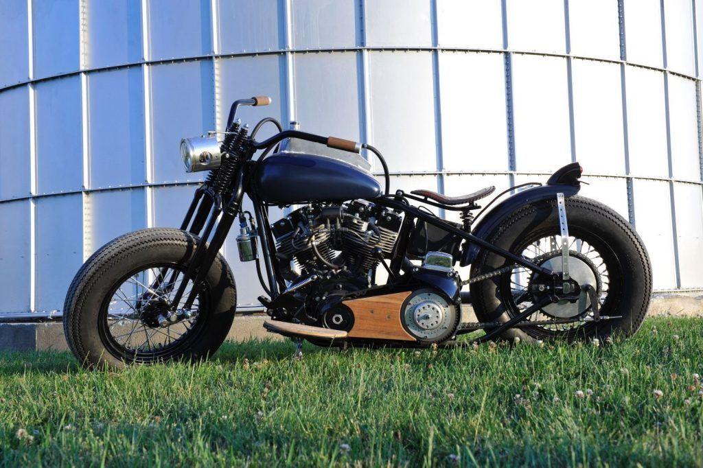 Custom 1978 Harley Davidson shovelhead Bobber