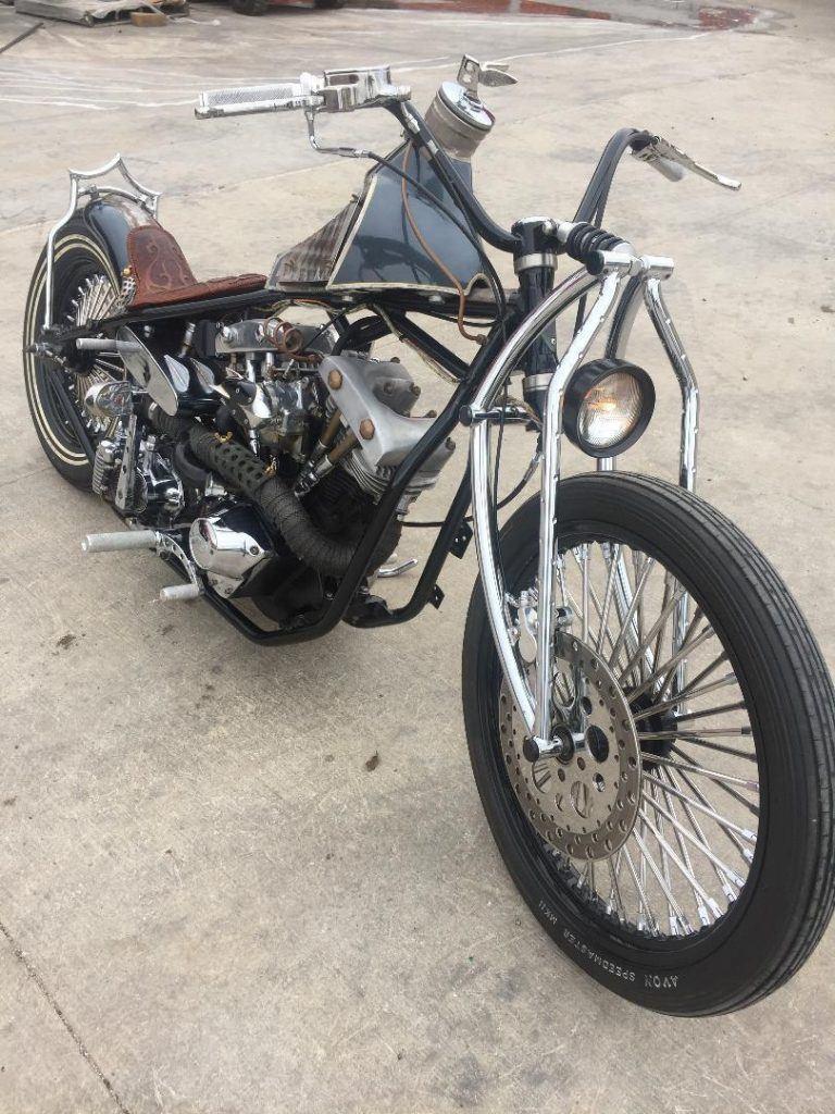 1983 Custom Built Bobber Shovelhead