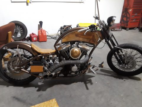 2004 Custom Harley boardtracher for sale