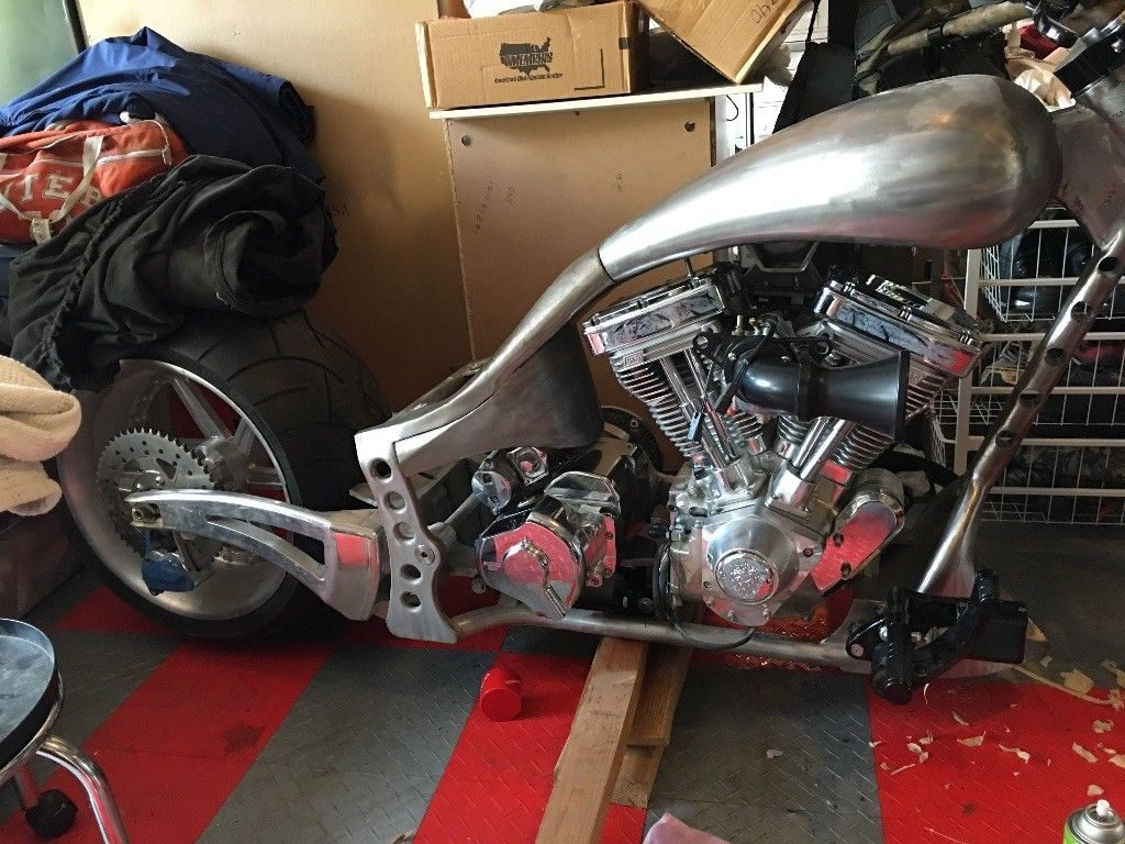 2007 Custom Bike S S evolution Big twin style 84-99 113, IST ignition
