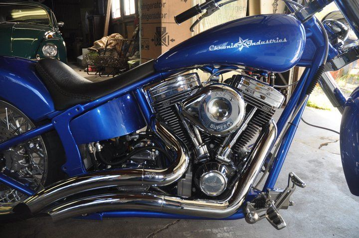 Indian style 2004 Custom Softail Harley