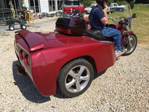 Unique Vette trike for sale