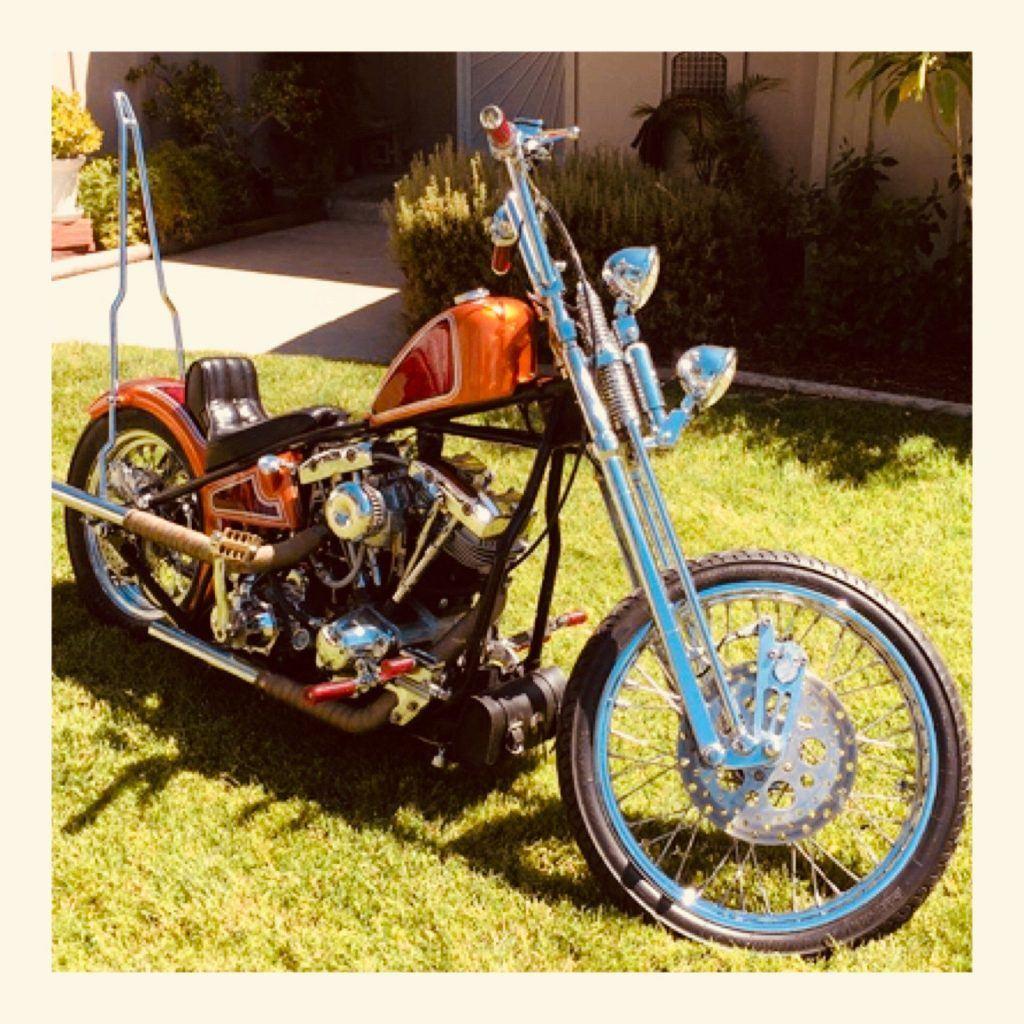 1976 Harley Davidson Shovelhead Chopper