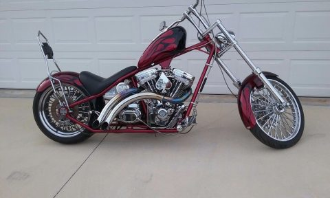 2000 Custom Built Motorcycles Chopper – Excellent shape for sale