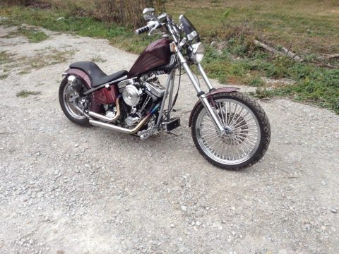 2001 Custom Built Motorcycles Chopper – rides great for sale