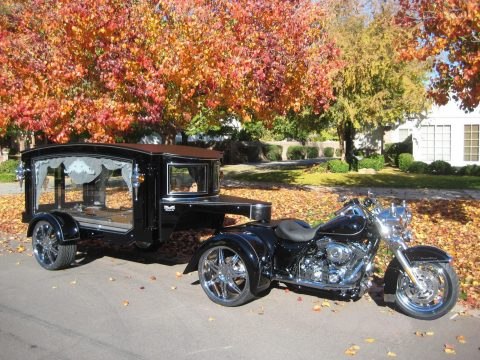 2010 Tombstone Harley Davidson Hearse – Excellent condition for sale
