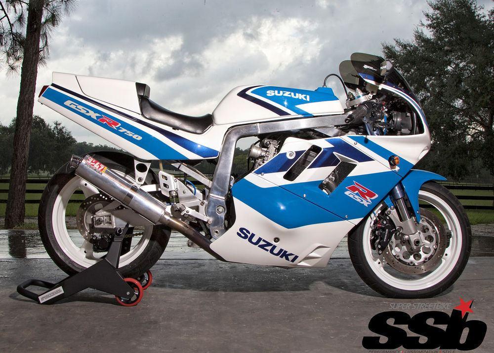 GREAT 1991 Custom Built Motorcycles GSX R 7/11