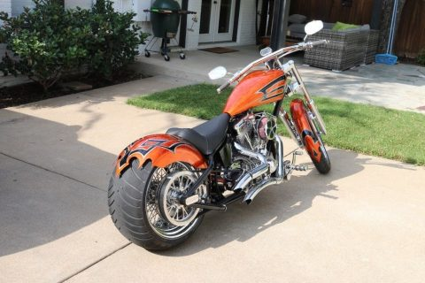 GREAT 2008 Custom Built Motorcycles Chopper for sale