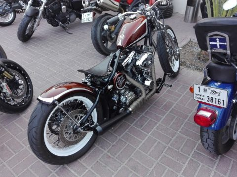 VERY RARE 2014 Custom Built Motorcycles Bobber for sale