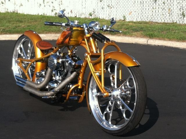 2017 harley davidson custom chopper
