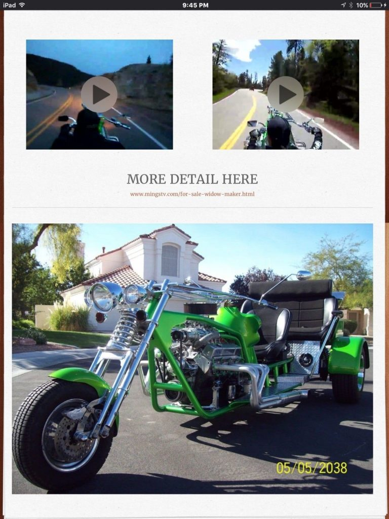 AMAZING 2005 Custom Built Motorcycles