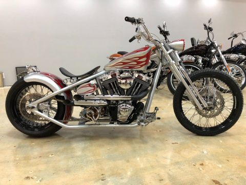 GREAT 2007 Custom Built Motorcycles Bobber for sale