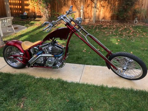 GREAT LOOKING 2007 Custom Built Motorcycles Chopper for sale