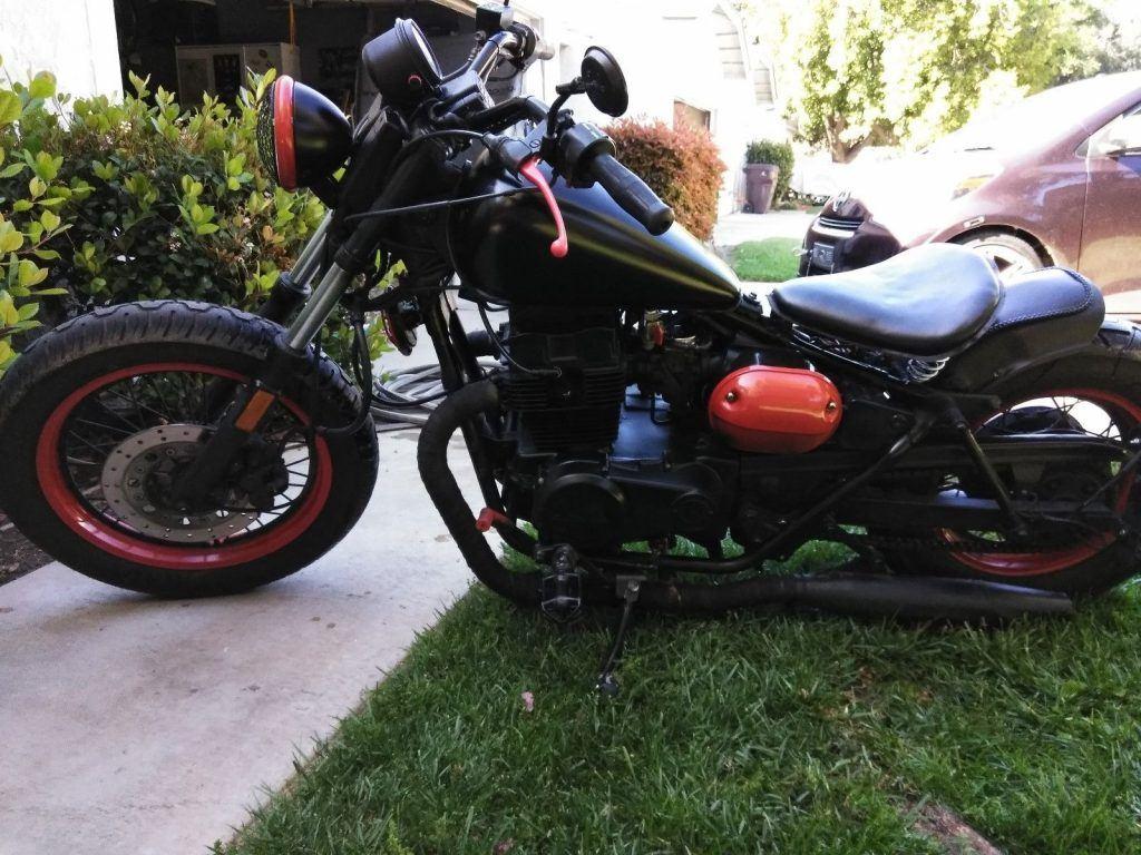 GREAT 1987 Custom Built Motorcycles Bobber
