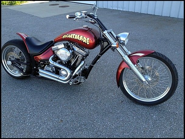 VERY NICE 2005 Custom Built Motorcycles
