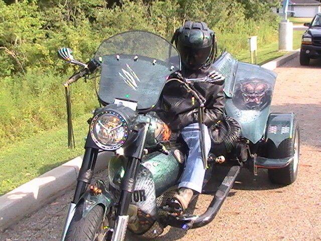 2012 Custom Built Motorcycles The Predator
