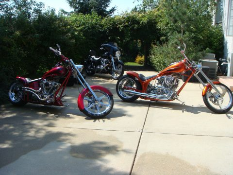GREAT 2009 Custom Built Motorcycles for sale