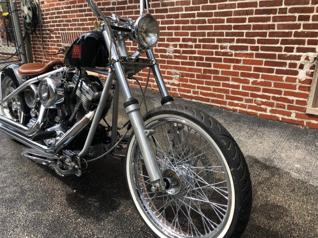 1995 Custom Built Motorcycles Bobber