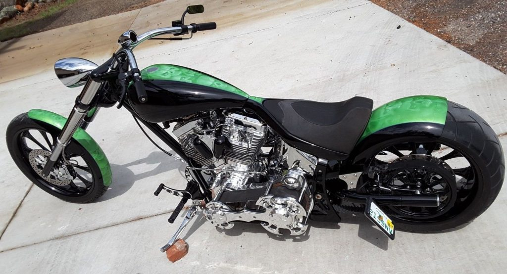 2010 Custom Built Motorcycles Chopper